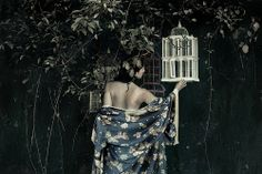 """""""Nocturne"""" self portrait by Kirsty Mitchell Fae Face, Kirsty Mitchell, Foto Fantasy, Dark Circus, What Dreams May Come, Fantasy Images, Female Photographers, Nocturne, Photoshoot Inspiration"""