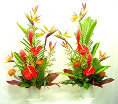 52 best tropical flower arrangements images on pinterest floral tropical floral arrangements flower arrangements make tropical silk flower arrangements mightylinksfo