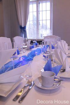 Juhlista 100-vuotiasta Suomea upealla sini-valkoisella juhlakattauksella!