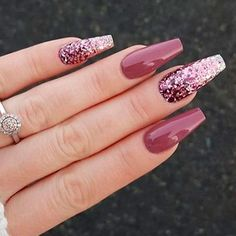 March 11 2020 at nails Hot Nails, Nude Nails, Perfect Nails, Gorgeous Nails, Fake Nails With Glue, Gel Nail Art Designs, Ballerina Nails, Dream Nails, Artificial Nails