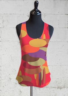 Sleeveless Top - Abstract Rose Sleeveless by VIDA VIDA Cheap Sale Amazing Price mGIWTaFMP