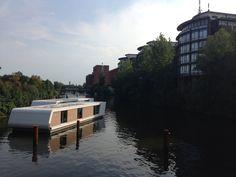 Houseboat in Hamburg, Billbrook