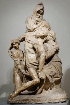 Πιετά - Αποκαθήλωση (1550) Μουσείο Καθεδρικού Ναού Φλωρεντίας