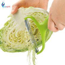 Acier inoxydable Légumes Éplucheur Chou Large Bouche Râpes Salade De Pommes De Terre Trancheuse Cutter Couteau à Fruits Cuisine Cuisson Outils(China (Mainland))