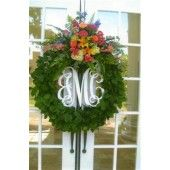3-Letter Monograms. Assortment of sizes-can be hung alone, on stocking, wreaths and more.