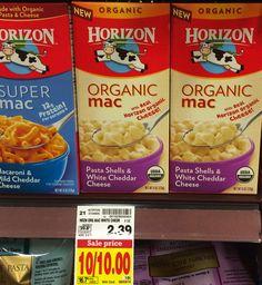 Horizon Mac & Cheese Only $0.45 at Kroger!
