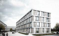 Auer Weber Architekten BDA » Projekte » Erweiterung Landratsamt Tübingen