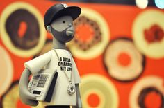 J Dilla Vinyl Toy