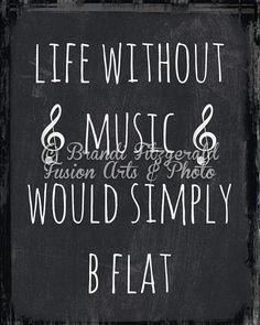 Music Quote Print