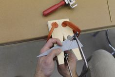 How to Make a Jeweler's Bench Pin by Jason von Techshop