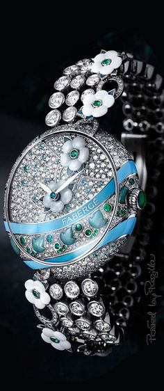 Jewelry Watch with Diamonds, Green Emeralds and Gemstones Stylish Watches, Luxury Watches, Cool Watches, Watches For Men, Popular Watches, Swiss Army Watches, Emerald Jewelry, Emerald Rings, Ruby Rings