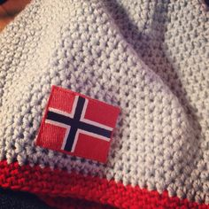 My cousin in Norway made these cool Norwegian Olympic team hats
