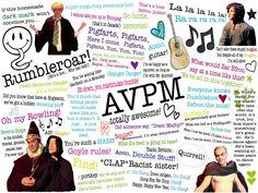 Best quote from each musical AVPM-Granger Danger AVPS-Harry Freakin Potter AVPSY-F*** this tie