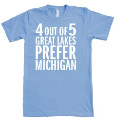 lol- 4 Out Of 5 T-Shirt from Michigan Awesome
