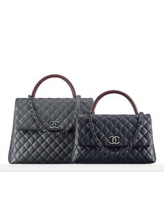 Grained calfskin flap bag embellished... - CHANEL