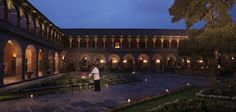 Hotel Belmond Palacio Nazarenas, Cusco, Peru. Search command in Amadeus: HLOECUZ