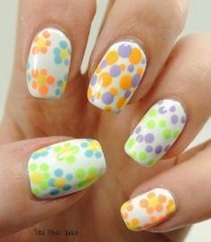 Total Polish Junkie: Bright Dots!