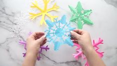 Cloud Dough - The Best Ideas for Kids Frog Crafts, Ladybug Crafts, Bunny Crafts, Easter Crafts For Kids, Recycled Crafts Kids, Easy Crafts, Homemade Playdough, Frozen Playdough, Christmas Toilet Paper