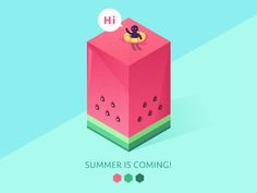 SUMMER IS COMING! by Meng