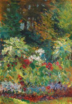 Blossoming Parkland Ernst Eitner (1867 - 1955)