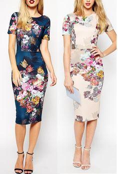 Hily Designs: Ir estupenda es fácil con un precioso vestido floral