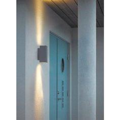 Vägglampa Norlys Sandvik Vägg 2 Aluminium | StayHome.se