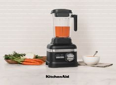 How about some Carrot and Ginger Soup made with your KitchenAid Power Plus Blender, to get you feeling as fit as a fiddle. Carrot And Ginger, Kitchenaid, Health And Wellness, Soups, Vegetarian Recipes, Artisan, How Are You Feeling, Kitchen Appliances, Fit