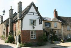 The George Inn, Lacock. I've gotten the impression that this and the Angel are just where the cast and/or crew were staying or eating.
