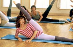 Jane Fonda! My mom would do this everyday