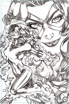 Jean Grey by Adriana Melo