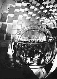 Bubbleator (Bubble Elevator) at the Seattle World's Fair 1962
