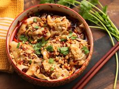 How to Make Sichuan-Style Wontons in Chili Oil