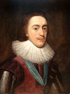"""""""Charles I (Prince of Wales)"""", c. 1623, by an unknown artist after Daniël Mijtens (Dutch, c. 1590-1647/48). Charles I (19 November 1600 – 30 January 1649) was monarch of the three kingdoms of England, Scotland, and Ireland from 27 March 1625 until his execution in 1649."""