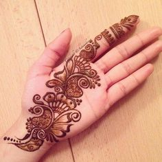 Best Henna Design on Palm Images Gallerh - Henna Designs Easy on Palm with Cute and Simple Design for Girl. this is the best henna design on Palm