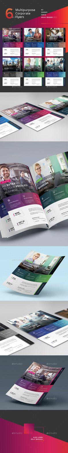 Corporate Flyer - 6 Multipurpose Business Templates vol 28