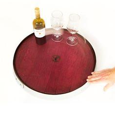 Lazy SuZin (Burgundy) | Zin Chair Furniture French Oak, Lazy Susan, Burgundy, Chairs, Table, Furniture, Tables, Home Furnishings, Stool