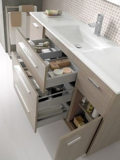 Small Bath Solutions (Better Homes and Gardens Home) Bathroom Renos, Bathroom Furniture, Bathroom Storage, Antique Furniture, Wooden Furniture, Furniture Ideas, Bathroom Ideas, Modern Bathroom, Small Bathroom