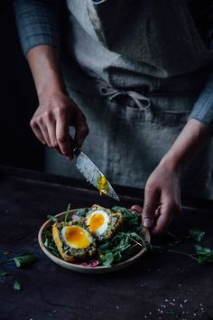 Gluten-free & Vegetarian Breaded Eggs / Scotch Eggs