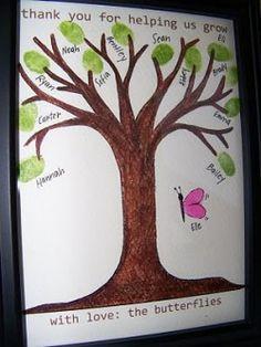 Ideeën voor afscheid van leerkracht of stagiaire