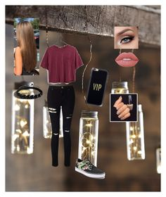 """""""Closer, Faster"""" by gretltje on Polyvore featuring mode, Roost, Madewell, Miss Selfridge, Vans, Casetify, Shamballa Jewels en Lime Crime"""