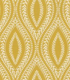 two 20 x 20 designer decorative pillow covers waverly buttercup - Home Decor Fabric