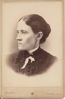 Lillian M. N. Stevens (1843-1914) was an American temperance worker and social reformer, born at Dover, Maine. She helped launch the Maine chapter of the Woman's Christian Temperance Union,[3] served as its president, and was elected president of the National Woman's Christian Temperance Union after the death of Frances Willard.