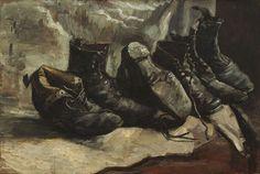 Van Gogh Shoes - December 1886