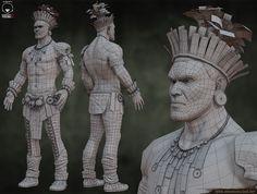 Picture Casey Jones, Tribal Warrior, Buddha, Statue, Pictures, Art, Photos, Art Background, Kunst