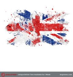 The next shirt up for Anglotees is design dedicated to the Union Jack. Flying Flag, British Tattoo, British Things, Uk Flag, Maybe One Day, Union Jack, Tattoo Inspiration, Tattoo Designs, Tattoo Ideas