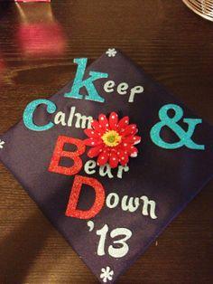 My graduation cap from the University of Arizona