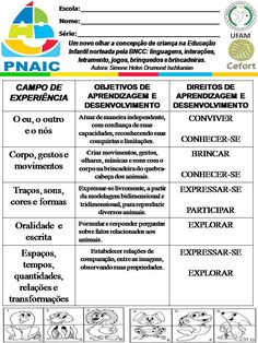 Atividades Escolares: VAMOS PLANEJAR: NOVA BNCC SEM COMPLICAÇÕES Sistema Solar, Study Hard, 5 Year Olds, Christmas Activities, Pre School, First Grade, Homeschool, Language, How To Plan
