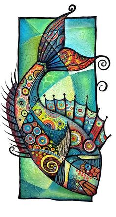 Art by Tanya McCabe   Sea creatures:
