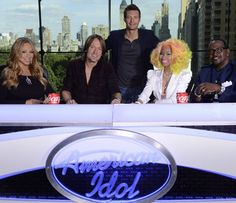 Idol: It's Mariah Carey, Nicki Minaj, Keith Urban and Randy Jackson on the Panel