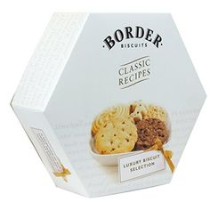 Border Biscuits  Hexagon Box  Classic Recipes  Luxury Biscuit Selection  500g >>> Details can be found by clicking on the image.